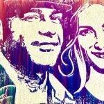 Trouver un peintre performer pour votre portrait mariage